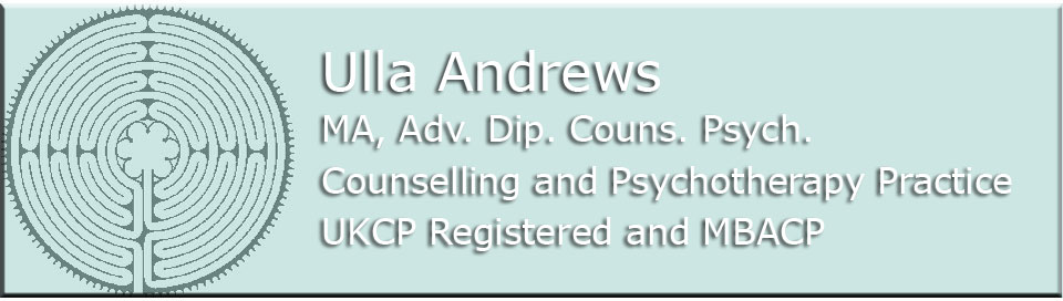 Ulla Andrews: Psychotherapy and Counselling Practice, West Hampstead and Paddington, London